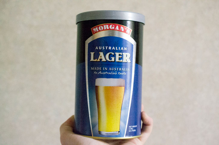 ビールキット缶-ラガー