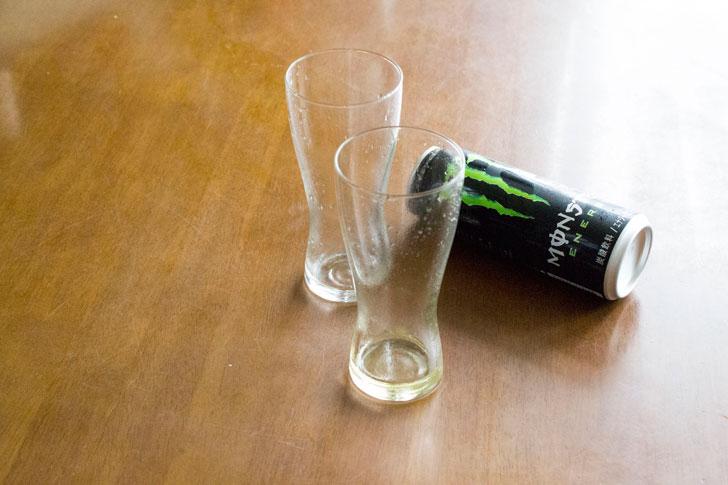 飲み終わり