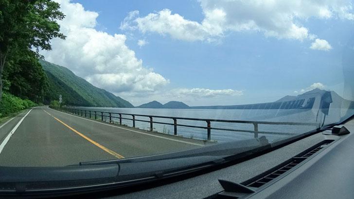 支笏湖周辺ドライブ