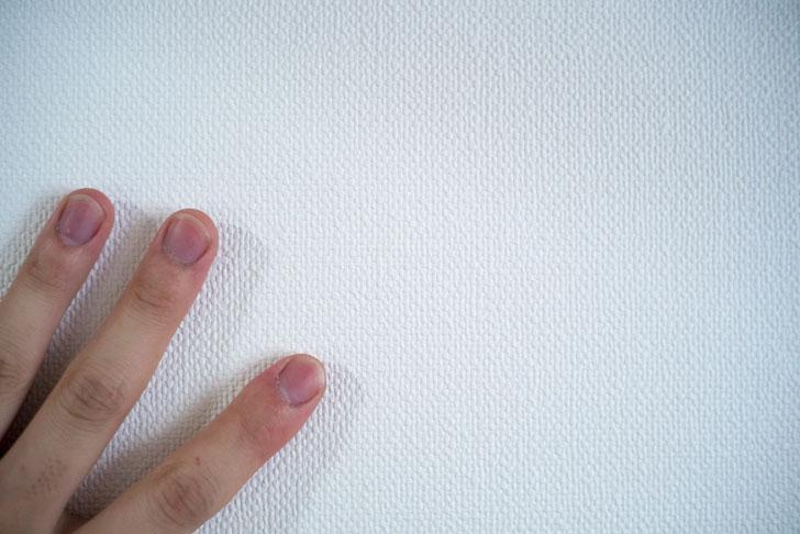 新しい壁紙はデコボコした壁紙