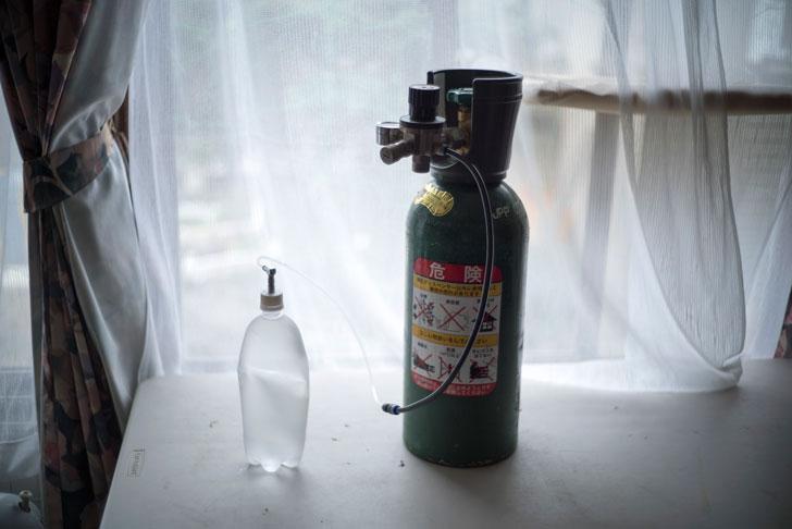 ビール用レギュレーターで炭酸水が入るか実験