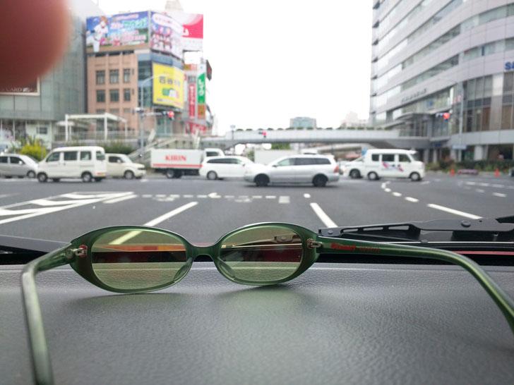 運転時のサングラス