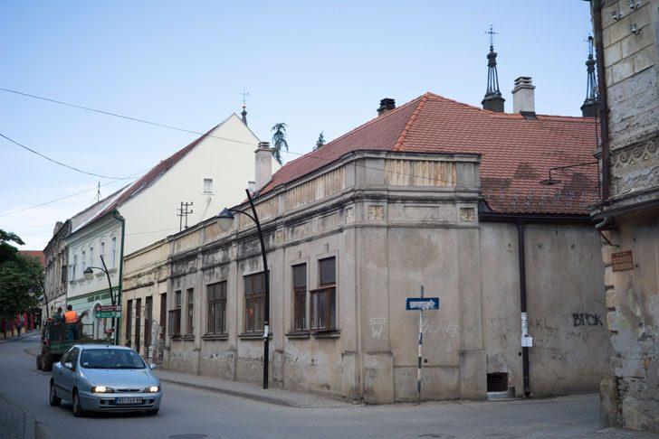 Serbia Sremski Karlovci の街並み