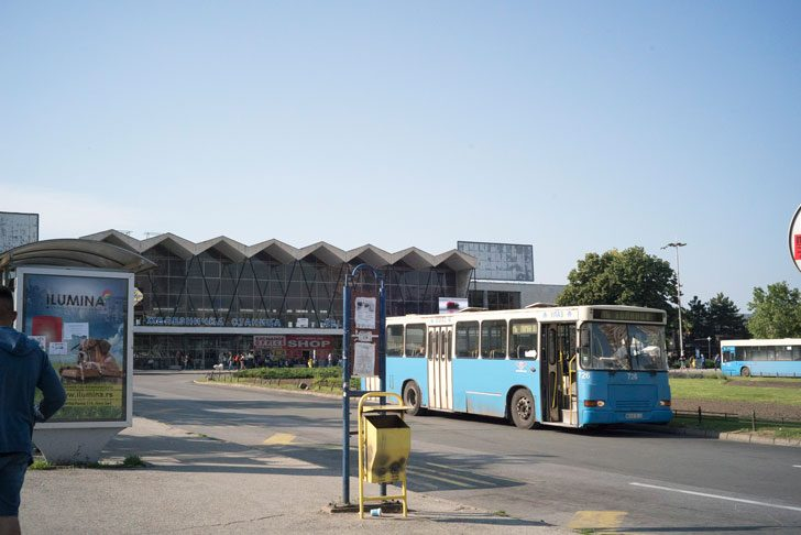 Novi Sad bus