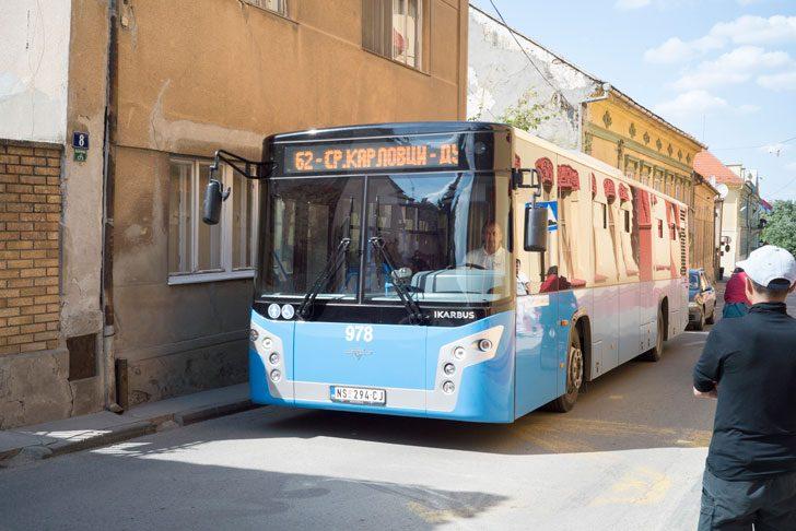 Sremski Karlovci bus stop