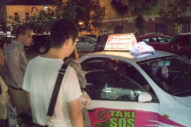 Novi Sadのタクシー