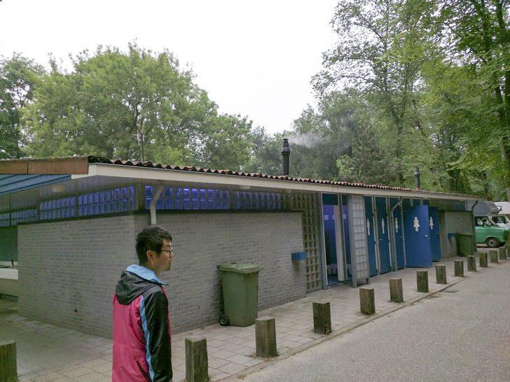 オランダのキャンプ場