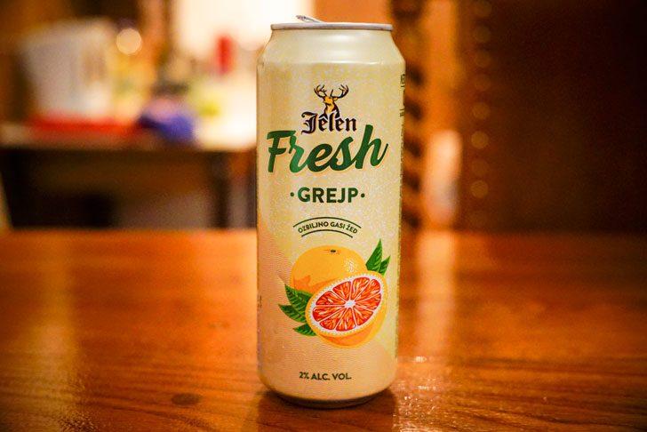 イェレンのグレープフルーツflavorビール