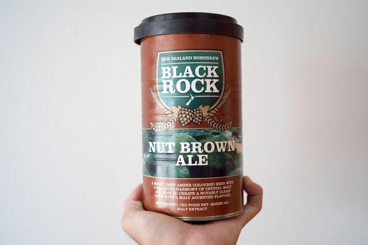 ビールのモルト缶