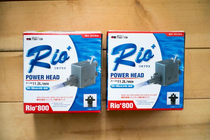 Rio+800を2台準備